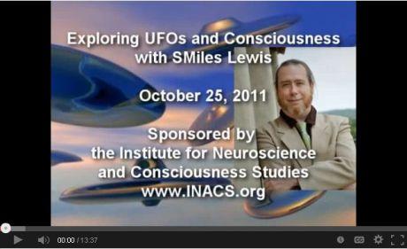 UFOs and Consciousness, Part I